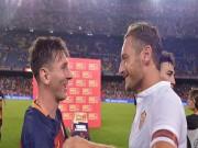 Bóng đá - Roma – Barcelona: Totti & Messi trước cột mốc lịch sử