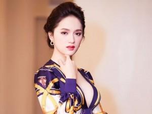 Sao ngoại-sao nội - Hương Giang Idol táo bạo mặc váy xẻ trên hở dưới