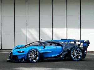 Tin tức ô tô - xe máy - Bugatti Vision Gran Turismo xanh mướt trình làng Frankfurt