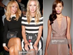 Thời trang bốn mùa - Paris Hilton xem Minh Tú diễn ở New York