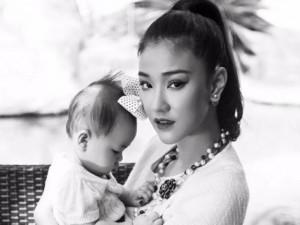 Sao ngoại-sao nội - Bộ ảnh ấn tượng của Maya và con gái 7 tháng tuổi