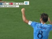 Ngôi sao bóng đá - Lampard ghi bàn đầu tiên ở giải nhà nghề Mỹ