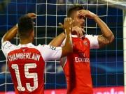 """Cup C1 - Champions League - Arsenal trở lại mặt đất: """"Tội đồ"""" không chỉ Giroud"""