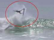 Thể thao - Pha lướt sóng kỳ lạ như có phép thuật