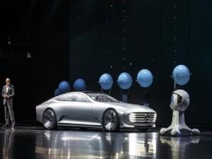 Ô tô - Xe máy - Mercedes-Benz Concept IAA - Phong cách tương lai của Mercedes-Benz