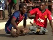 Thể thao - Trượt ván đá bóng: Sáng tạo của người khuyết tật