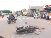 Camera hành trình - Tai nạn thảm khốc ở Đắk Lắk, 1 phụ nữ chết thảm