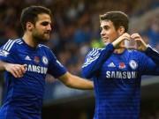 Bóng đá - Chelsea hồi sinh: Thành bại tại Fabregas – Oscar