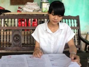 Tuyển sinh 2016 - Bùi Kiều Nhi được tuyển vào Học viện Chính trị Công an Nhân dân