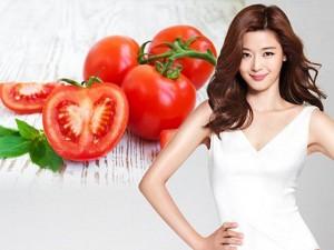 Làm đẹp - Mặt nạ cà chua tẩy trắng làn da xỉn màu xấu xí