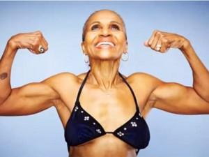 Làm đẹp - Cụ bà 79 tuổi trẻ bất ngờ nhờ chăm luyện thể hình