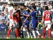 Video bóng đá hot - Costa dùng chiêu trò, Arsenal bị mất người