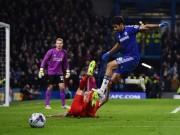 "Bóng đá - Diego Costa: ""Vua tiểu xảo"" ở Premier League"