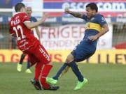 Bóng đá - Ghê rợn: Đến lượt Tevez đạp gãy chân đối thủ