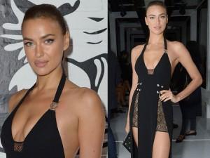 Thời trang - Irina Shayk khoe chân dài với váy xẻ cao ngút