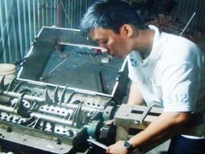 Bạn trẻ - Cuộc sống - Chàng kỹ sư 9X đam mê sáng chế