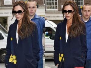 """Thời trang - Victoria Beckham ấn tượng với chiếc áo """"mới toanh"""""""