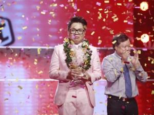 Ca nhạc - MTV - Đức Phúc khóc nức nở khi đăng quang Giọng hát Việt 2015