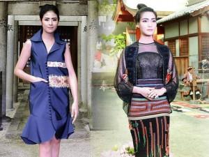 Thời trang bốn mùa - Hoa hậu Thùy Dung, Ngọc Hân đến Nhật diễn catwalk