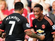 Bóng đá - Martial – Depay: Một cặp Rooney – Ronaldo mới cho MU