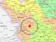 Tin tức trong ngày - Động đất 3,6 độ richter tại Tuần Giáo - Điện Biên