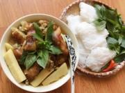 Ẩm thực - Giả cầy nấu măng tươi thơm ngon cho bữa cơm ngày mưa