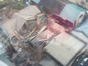Tin tức trong ngày - Clip: Lời kể nhân chứng vụ sập nhà ở Hà Nội