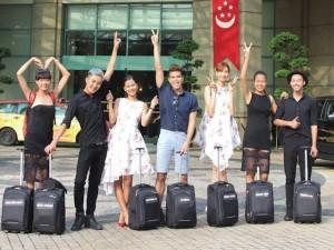 Người mẫu - Hoa hậu - Top 7 Vietnam's Next Top Model háo hức đến Singapore
