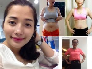 Làm đẹp - Bà mẹ Việt tự tin khoe bụng rạn hậu giảm cân