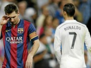Bóng đá - Messi - CR7: Đá penalty dở, sút phạt hàng rào tệ
