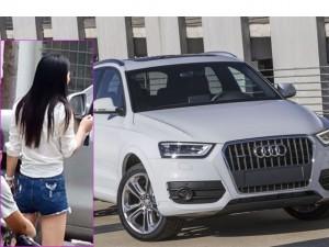 Bạn trẻ - Cuộc sống - Cãi nhau với người yêu, thiếu nữ đập nát xe Audi Q3