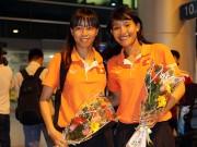 Bóng đá - ĐT nữ Việt Nam rạng rỡ trở về sau trận thắng Thái Lan