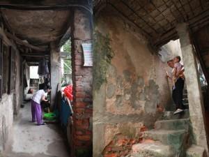 Tin tức trong ngày - Thấp thỏm sống trong chung cư xập xệ giữa Thủ đô