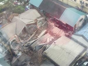 Tin tức trong ngày - Lãnh đạo đường sắt công bố lý lịch nhà cổ bị sập