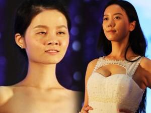 Váy - Đầm - Ứng viên Hoa hậu Thế giới TQ lộ mặt mộc quá kém sắc