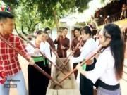 Du lịch - Tìm hiểu tục đâm đuống của người Mường ở Phú Thọ