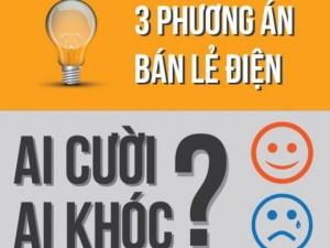 Infographic: Cười - khóc 3 phương án biểu giá điện mới
