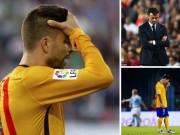 Bóng đá - Barca: Pique sa sút và phúc họa khôn lường