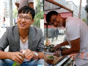 Bạn trẻ - Cuộc sống - Thạc sĩ bỏ lương 700 triệu/năm về bán bánh tráng nguội