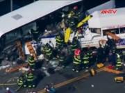 Video An ninh - Mỹ: Tai nạn xe bus, ít nhất 13 sinh viên thương vong