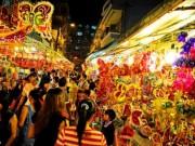 Du lịch - Phố lồng đèn Sài Gòn rực rỡ đón Trung thu