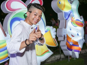 Mặt sau cánh gà - Quang Anh The Voice Kids ngày càng sành điệu