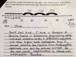 Giáo dục - du học - Bài toán khó lớp 3 và màn đáp trả hài hước của ông bố
