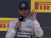 Thể thao - Japanese GP: Hamilton đi vào lịch sử