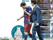 Bóng đá - Messi nghỉ 8 trận, Barca coi chừng hiệu ứng domino