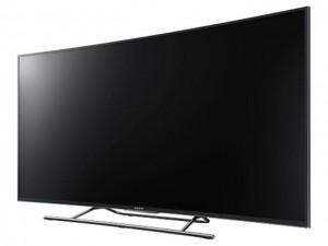 Công nghệ thông tin - Độc đáo TV 4K Android màn hình cong của Sony