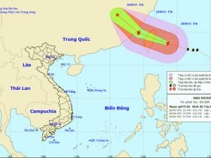 Tin tức trong ngày - Siêu bão Dujuna gây gió xoáy trên biển Đông