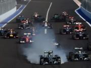 Thể thao - Lịch thi đấu F1: Russian GP 2015