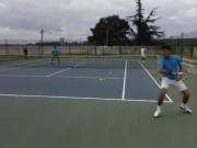 Thể thao - Tennis 24/7: Djokovic quay 180 độ, đánh bóng thần sầu