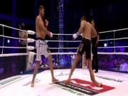 Thể thao - Gãy chân kinh hoàng sau khi tung cước vào đối thủ